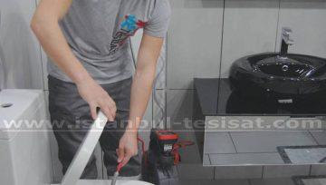Tuvalet Lavabo Tıkanması Kırmadan Açılır