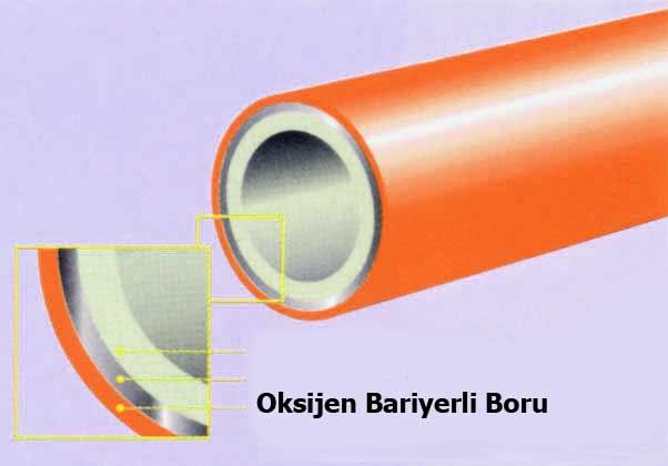 oksijen-bariyerli-boru