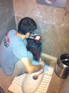 Makineyle Tıkanan Tuvalet Gideri Açan Tesisatçı