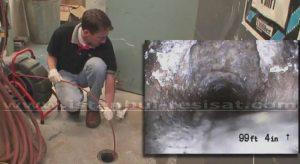 Atık Gider Su Borusu İçini Görüntüleme