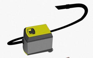 kanalizasyon tıkanmalarını açmak için elektrikli süpürge yöntemi