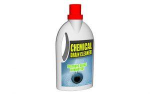 tıkalı kanal borularını açmak için kimyasal ilaç