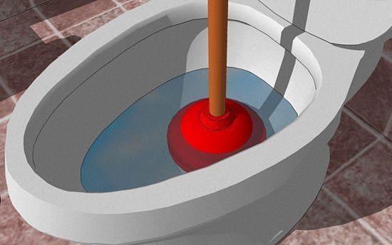 su çekmeyen klozet için pompa kullanma yöntemi