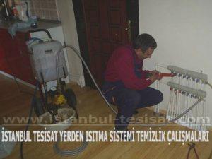 merkezi sistem yerden ısıtma tesisatı temizliği yapan şirket