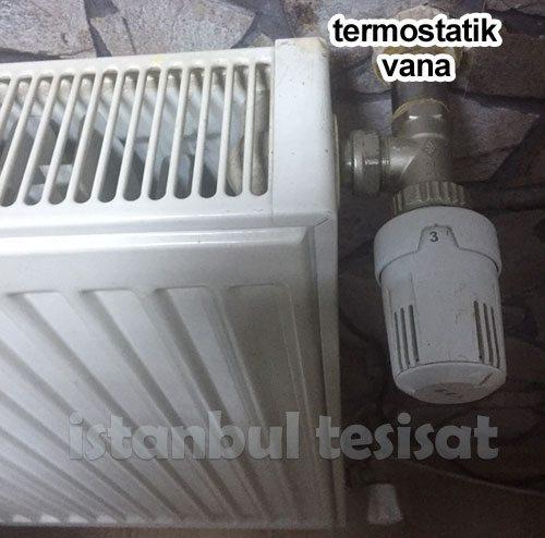 termostatik vana ne işe yarar